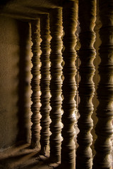 Carved window bars, Angkor Wat