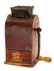 Old coffee mill