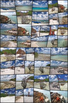 aruba caraibi collage