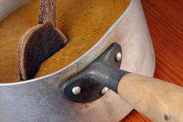 La casserole de soupe