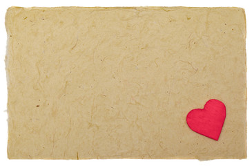 Valentine letter background
