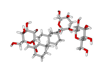 Molecular structure of stevioside