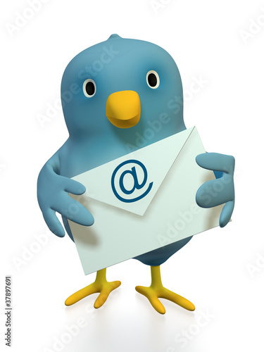 Bluebird With Email