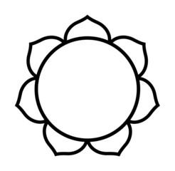 Buddhist Lotus flower