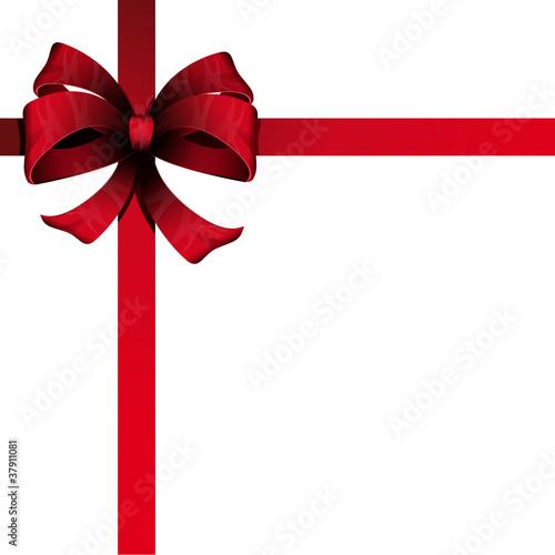 ruban rouge carte cadeau fichier vectoriel libre de droits sur la banque d 39 images fotolia. Black Bedroom Furniture Sets. Home Design Ideas