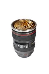 Camera lens bank