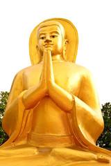 golden buddha in chaingmai Thailand
