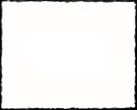 8 x 10 Unique Black and White border 03