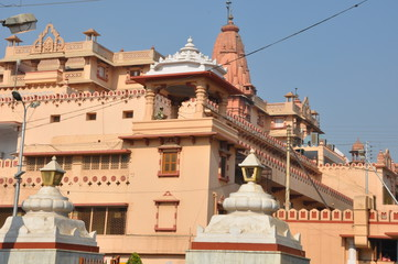 Mathura (birthplace of Lord Krishna) in India