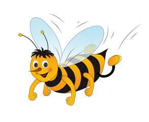 Fröhliche Biene