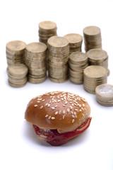 burger price