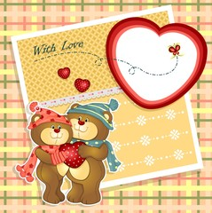 In de dag Beren Teddy bears background pictures