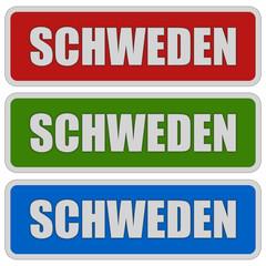 3 Sticker rgb oc SCHWEDEN