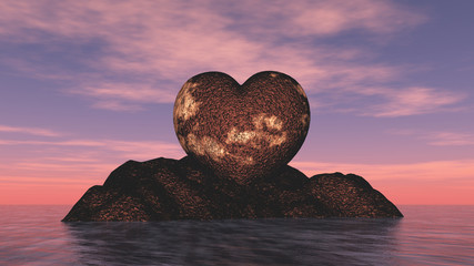 heart from stone