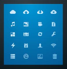 Universal glyphs 10. Cloud services