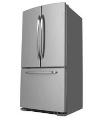 Three Door Refrigerator facing left