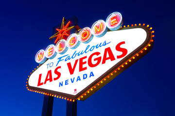 Printed kitchen splashbacks Las Vegas Welcome to Fabulous Las Vegas sign