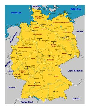 Allemagne - Régions