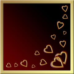 Walentynki - karta