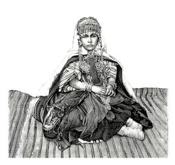 Trad. Arabian Woman/Girl