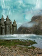 Wall Murals Dragons Fantasy Landscape