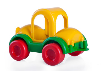 a small toy car color