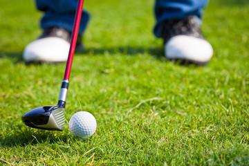 Driving the golf ball