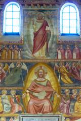 Abbazia di Pomposa, affreschi