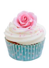 Wall Mural - Rose cupcake