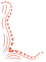 abstract vector background for Day of Valentine