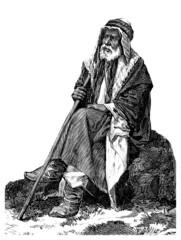 Old Semitic Man