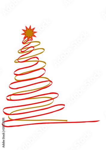 Weihnachtsbaum modern stockfotos und lizenzfreie vektoren auf bild 38055091 - Weihnachtsbaum modern ...
