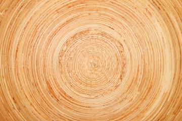 Runde Holzstruktur