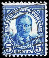 USA - CIRCA 1922 Theodore Roosevelt