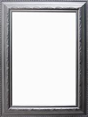 Silberner Rahmen mit Freiraum für ihr Foto/Projekt