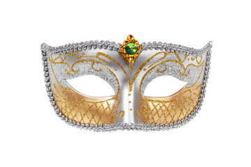 Carnival Venetian mask with clipping path.