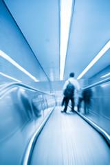 escalator to underpass