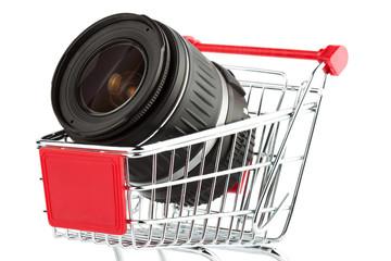 Photo Lens in Shopping Cart