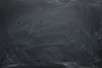 Blank chalkboard, blackboard texture with copy space Wall mural