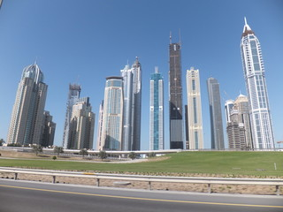 Skyscrapers in Dubai, UAE