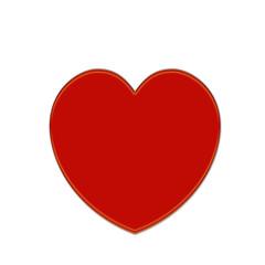 Herz Liebe rot