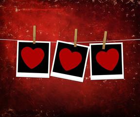 Happy Valentine, photos, texture, hearts