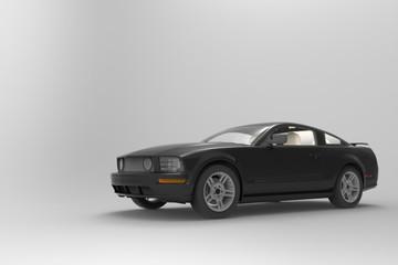 Muscle Car Black