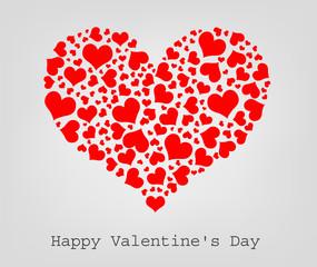 valentine seamless hearts