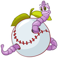 Cartoon Character Worm