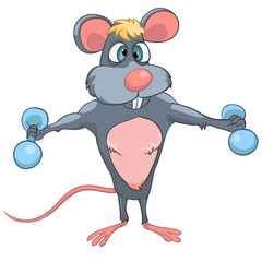Cartoon Character Mouse