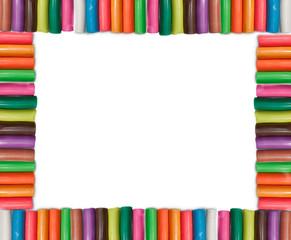 Colorful Plasticine Frame