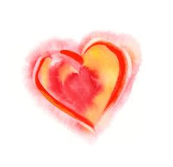 Watercolor -Heart-