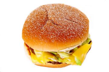 hamburger nourriture industriel mauvais pour la santé
