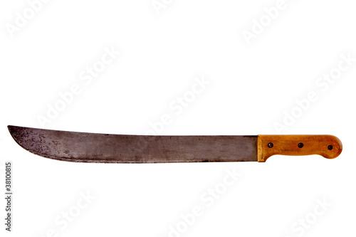 Machette coupe coupe sabre photo libre de droits sur - Achat machette coupe coupe ...